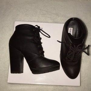 Black Platform Madden Girl boots